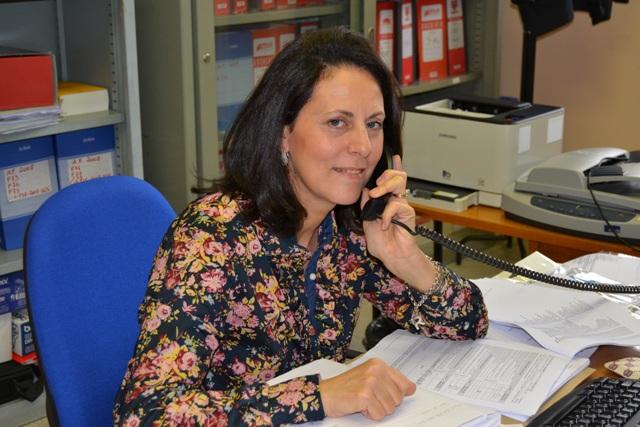 Foto del Direttore dei Servizi Generali e Amministrativi Rosa Petralla