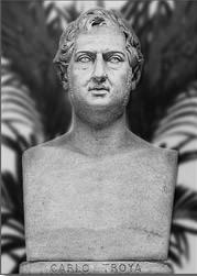 Busto Carlo TROYA