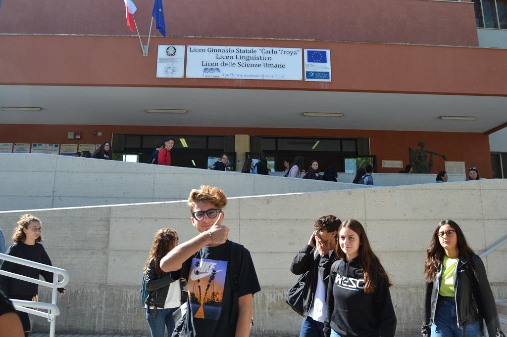 Foto ingresso Liceo Statale Carlo Troya