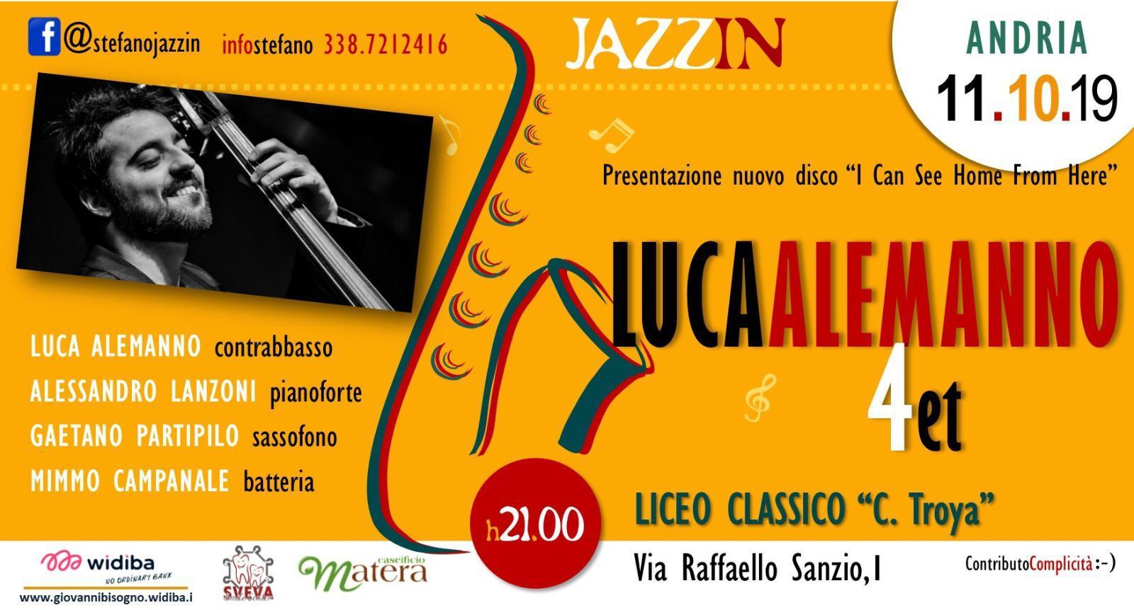 Luca Alemanno in concerto