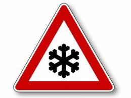 Pericolo per neve