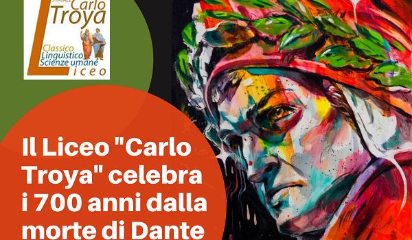 Logo celebrazione 700 anni Dante Liceo Troya